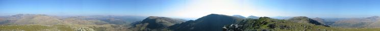 360 Panorama from Great Carrs' summit