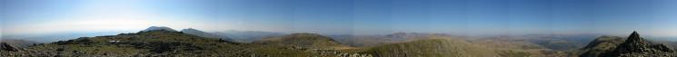 360 Panorama from Swirl How's summit