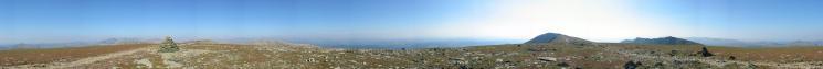 360 Panorama from Brim Fell's summit