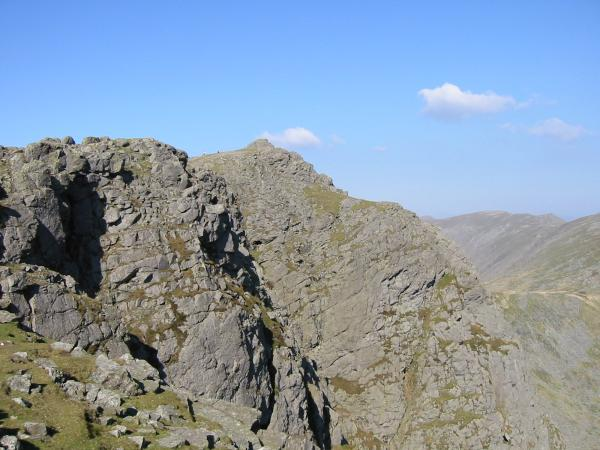 Dow Crag summit from the south