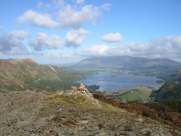 Derwent Water from King's How top