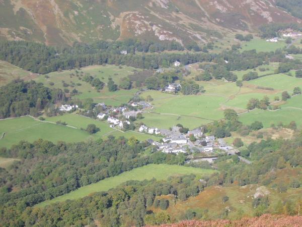 Looking down on Grange