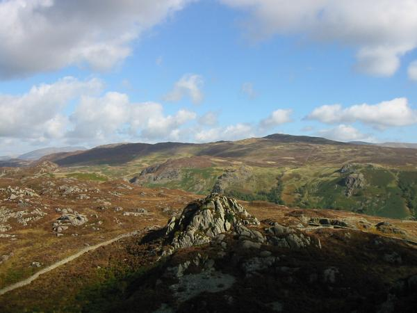 Jopplety How with Bleaberry Fell and High Seat behind