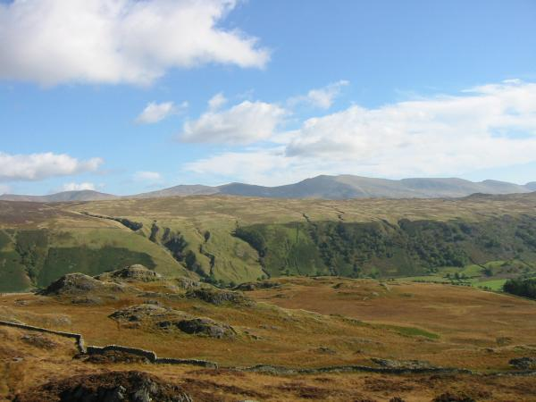 High Tove with the Helvellyn Range behind