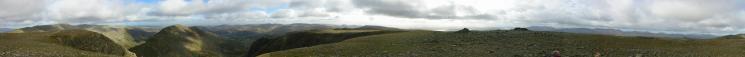360 Panorama from Fairfield's summit