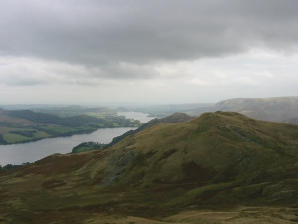 Ullswater and High Dodd with Hallin Fell behind