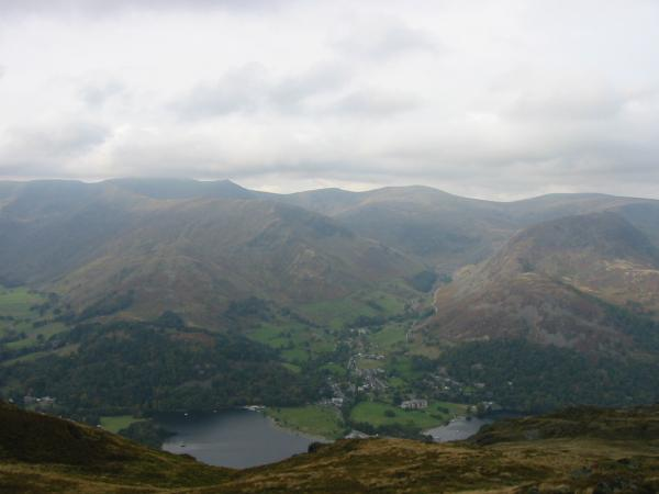 Glenridding from Place Fell summit