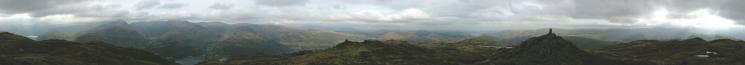 360 Panorama from Place Fell's summit