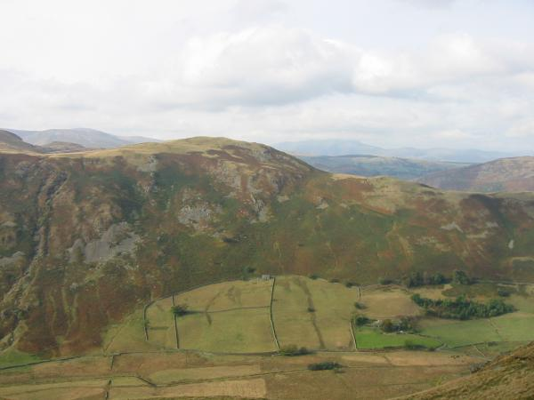 Looking across Boredale to High Dodd