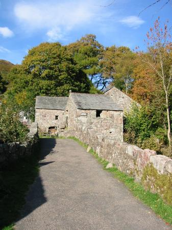 The bridge at Boot and Eskdale Mill