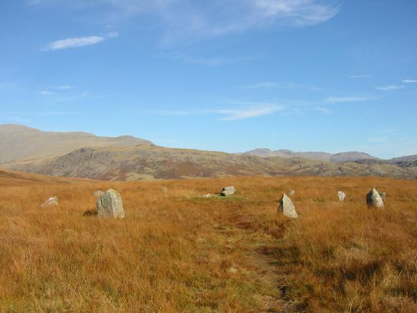 One of the stone circles