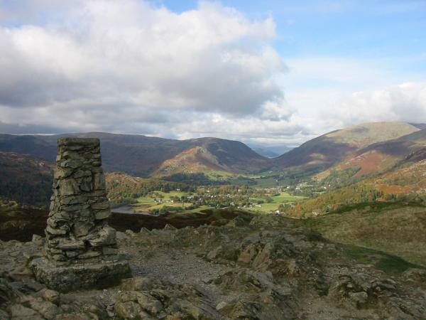 Grasmere from the summit