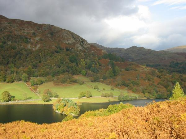 Rydal Water and Low Pike