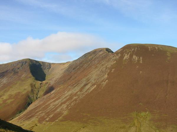 Wandope, Addacomb Hole, Eel Crag and Sail