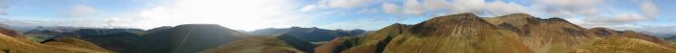 360 Panorama from Knott Rigg's summit