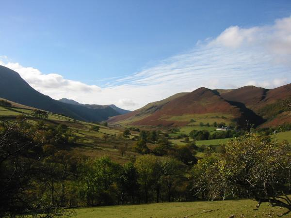 Looking towards Newlands Hause