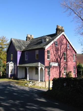 Rigg Beck, the purple house