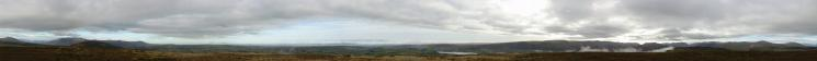 360 Panorama from Little Mell Fell's summit