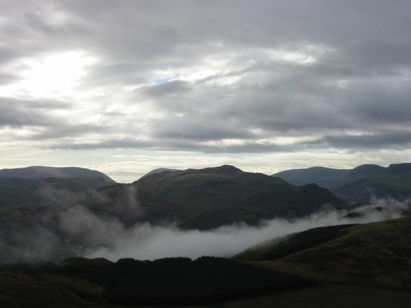 Place Fell with cloud hanging over Ullswater