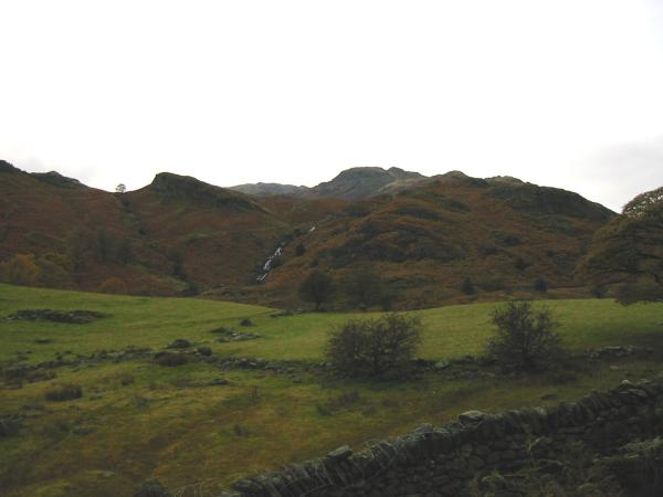 Looking back to Sour Milk Gill and Tarn Crag