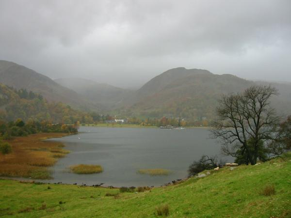 Looking across the lake to Glenridding