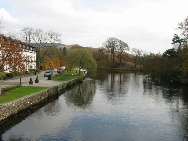 The River Leven at Newby Bridge