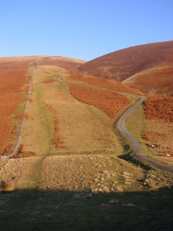 The recently repaired Jenkin Hill path up Skiddaw