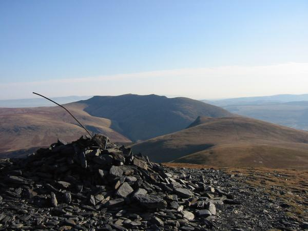 Blencathra and Lonscale Fell from Little Man's summit