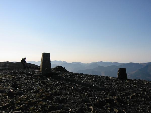 Skiddaw's summit