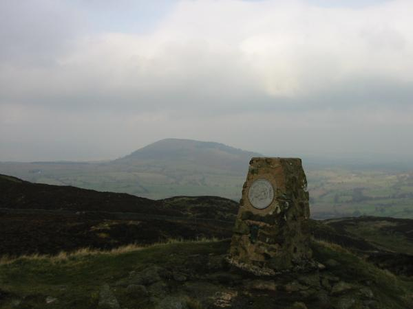 Great Mell Fell from Gowbarrow Fell's summit