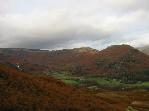 Sourmilk Gill, Easedale and Helm Crag