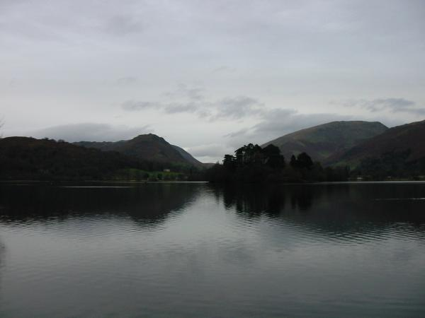 Helm Crag and Seat Sandal across Grasmere