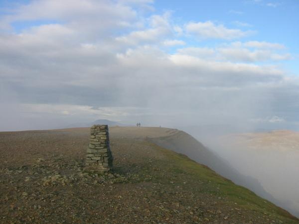 Helvellyn's trig point