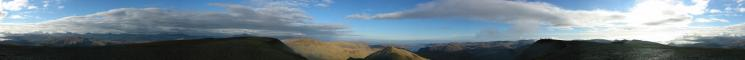 360 Panorama from Helvellyn's summit