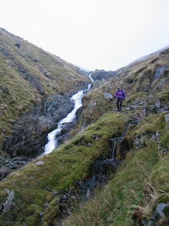 Descending the rough path by Raise Beck