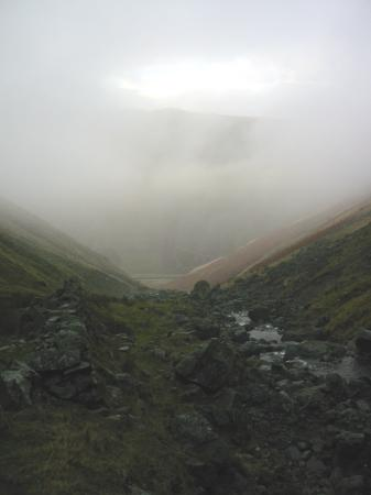 Looking down to Dunmail Raise