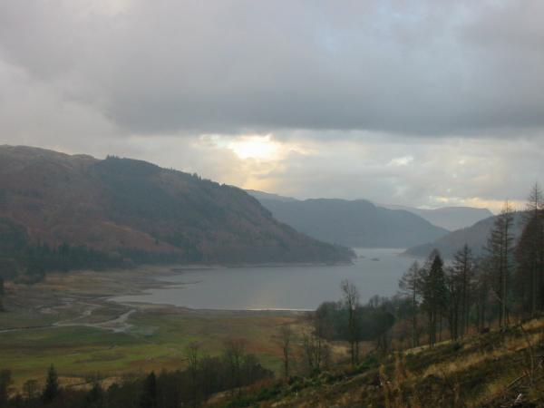 Thirlmere from the Dunmail Raise to Wythburn path