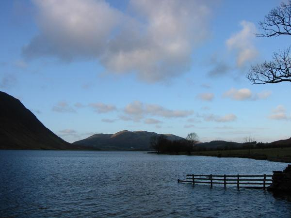 Low Fell from Crummock Water shoreline
