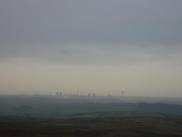 Sellafield from the summit