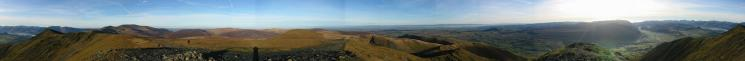 360 Panorama from Blencathra's summit