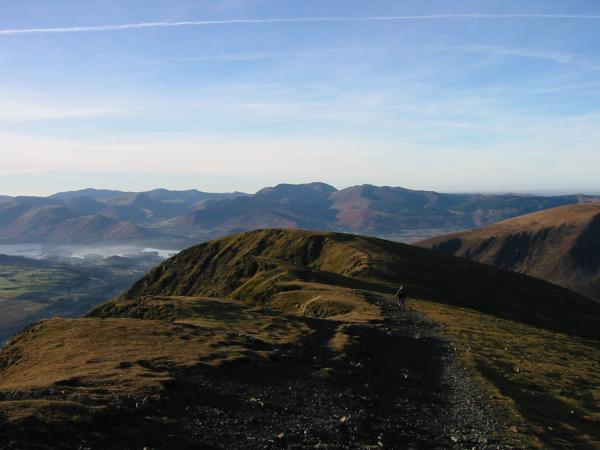 Blease Fell with the north western fells beyond