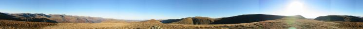 360 Panorama from Gray Crag's summit