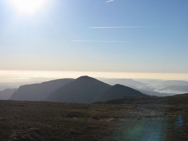 The Ill Bell ridge (Yoke, Ill Bell and Froswick)
