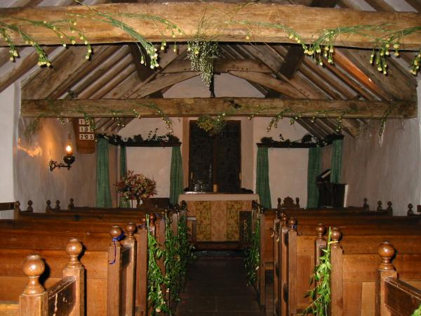 Inside St Olaf's Church