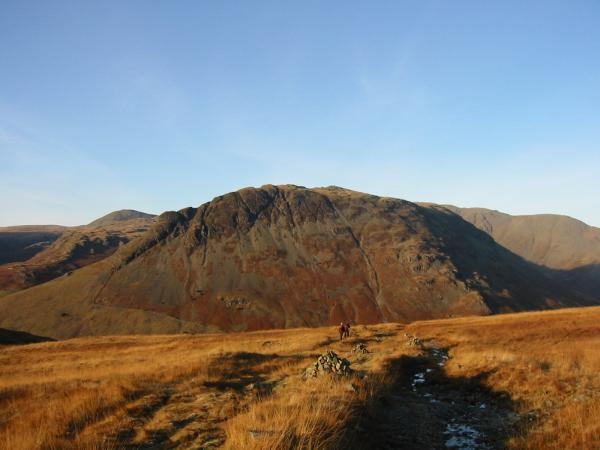 Yewbarrow from the descent