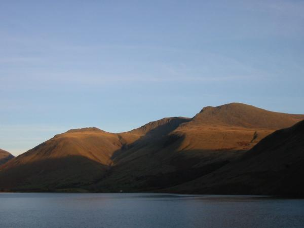 Lingmell, Scafell Pike and Scafell