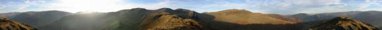 360 Panorama from Hartsop Above How's summit