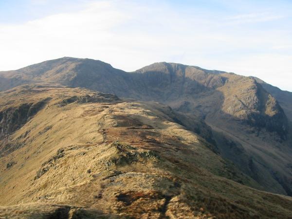 The ridge up to Hart Crag
