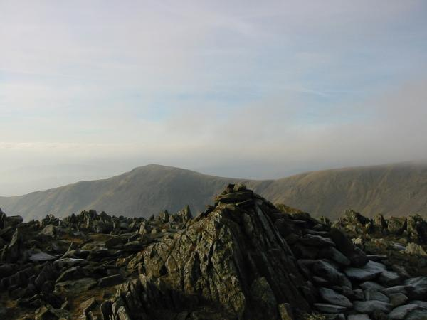 Great Rigg from Hart Crag's summit