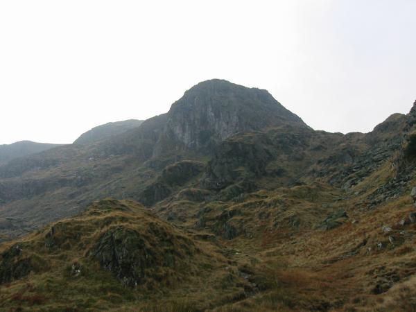 Dove Crag from below